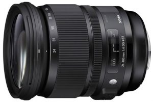 Review Đánh Giá Lens Sigma 24-105mm F4 DG OS HSM Art - BOW101