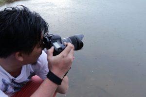 Chụp dưới mưa với Canon và Sigma